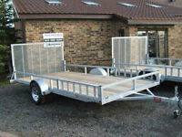 New 2 Place ATV Trailer - Full Featured and Built to Last