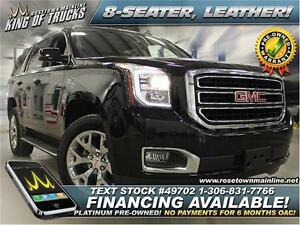 2015 GMC Yukon SLT Low KM | Leather | 8-seater