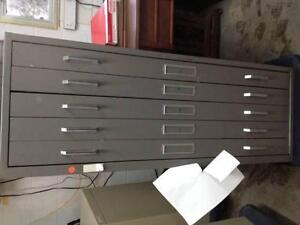 Flat file/ blue print/ drafting/ drawing/ map cabinets.