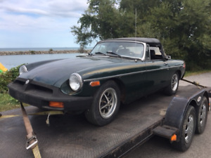 1976 MGB For Parts Reduced