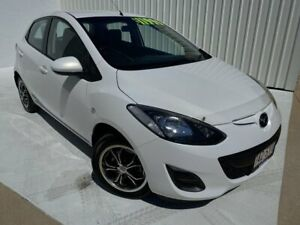 2012 Mazda 2 DE10Y2 MY12 Neo White 4 Speed Automatic Hatchback Mundingburra Townsville City Preview