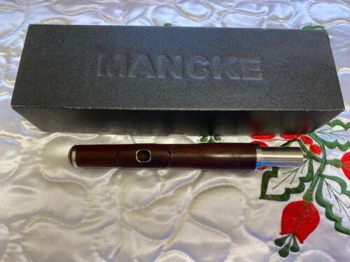Mancke Mopani Wood Flute Headjoint w/ 14K Gold Riser + Heavy Wall
