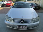 2004 Mercedes-Benz CLK320 C209 Avantgarde Silver 5 Speed Automatic Coupe Bundall Gold Coast City Preview