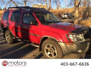 2003 Nissan Xterra SC AWD Automatic supercharger leather