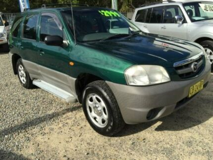 2001 Mazda Tribute Limited Green 5 Speed Manual 4x4 Wagon Jewells Lake Macquarie Area Preview