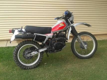 HONDA XL 250R 1982