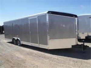 8.5 x 24 + V-Nose Cargo Trailer *NO PAYMENTS FOR 90 DAYS OAC*