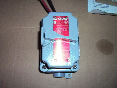 HUBBELL KILLARK FXSX53 MOTOR STARTER , 20 Amps AC, Enclosure NEMA Rating 3R, 7,9