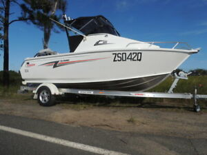 2017 Stacer 509 Sea runner Burpengary Caboolture Area Preview