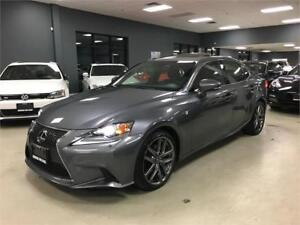 2014 Lexus IS 250*F-SPORT PKG*NAV*BACK-UP CAM*ONE OWNER*