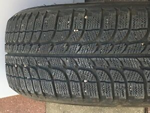 2 Michelin winter tires for Honda civic