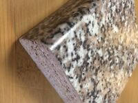 Beige Granite 3 mtr Laminate Kitchen Worktop - Brand New