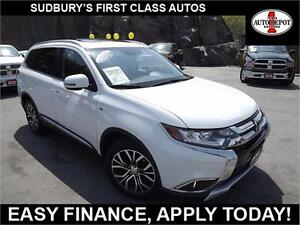 2016 Mitsubishi Outlander GT!! AWD!! NAV!! HEATED LEATHER!!