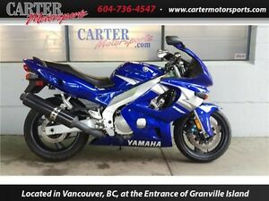 2004 Yamaha YZF600RS - Reduced!
