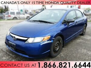 2007 Honda Civic DX-G | LOW PRICE | NO ACCIDENTS