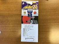 Up to 4 NFL Tickets - Minnesota Vikings vs Cleveland Browns - (Middle Tier FRONT ROW)