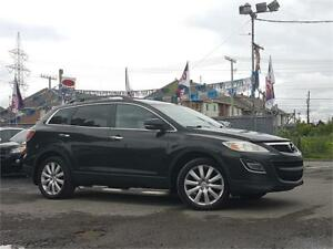 2010 Mazda CX-9 GT/AUTO/4X4/7PASS/AC/MAGS/CUIR/CAMERA/TOIT/AUX!!