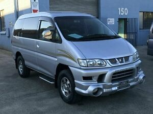 2005 Mitsubishi Delica SPACEGEAR High Roof Silver 4 Speed Automatic Wagon