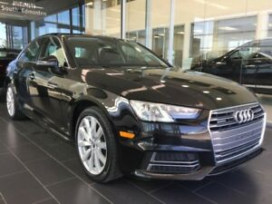 2018 Audi A4 Sedan KOMFORT, AWD QUATTRO, ACCIDENT FREE