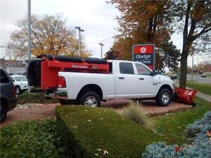 2016 Ram 2500 ST Truck Crew Cab with Snowplow & Spreader Package