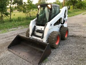 SkidSteer Bobcat and Cat