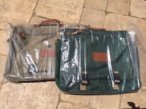 Canvas Briefcases / Book Bags / Laptop Bag