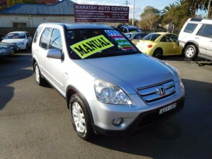2005 Honda CR-V 2005 Upgrade (4x4) Silver 5 Speed Manual Wagon Waratah Newcastle Area Preview