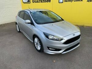 2016 Ford Focus LZ Sport Silver 6 Speed Automatic Hatchback Invermay Launceston Area Preview