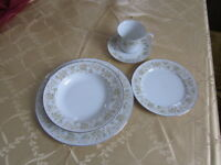 Mikasa fine china dinner service