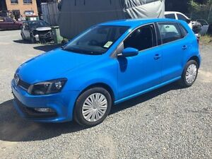 2016 Volkswagen Polo TSI Trendline Blue Automatic Hatchback Ashmore Gold Coast City Preview