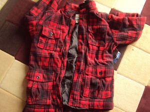 Brand new wool blend coat from old navy XL youth Cambridge Kitchener Area image 2