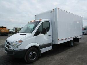 2008 DODGE SPRINTER 3500 DRY BOX 16' À VENDRE / TRUCK FOR SALE