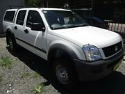 2003 Holden Rodeo RA LT Crew Cab 4x2 White 5 Speed Manual Utility Broadmeadow Newcastle Area Preview
