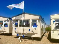 REDUCED STATIC CARAVAN FOR SALE 2017 SITE FEES INC. SITED ON NORFOLK COAST NR GREAT YARMOUTH