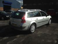 2008 RENAULT MEGANE ESTATE DIESEL - ONE OWNER, TIMING BELT REPLACED