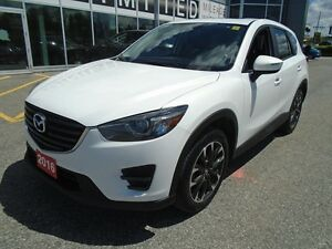 2016 Mazda CX-5 **NAV, HID LIGHTS & LEATHER!** LOADED GT AWD
