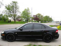 BLACK ON BLACK !!! 6 SPEED MANUAL ! 2005 Saab 9-3 AERO London Ontario Preview