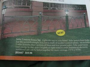NEW solar butterfly garden stakes & solar fence Peterborough Peterborough Area image 3