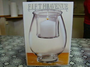 Fifth Avenue Crystal Monticello - Candle in Vase - Brand New