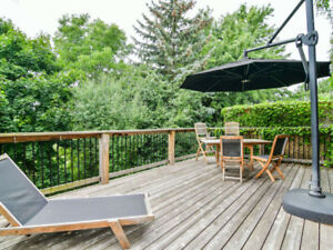 Gorgeous Brampton Heart Lake Ravine Property