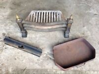 Fire grate with ash box, very good condition