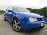 VW Golf v6 4 Motion.. 2002 (Jazz Blue) ONE OWNER from new.