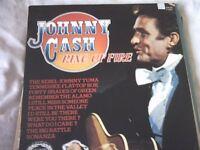 Vinyl LP Johnny Cash Ring Of Fire