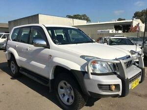 2008 Toyota Landcruiser VDJ79R GX (4x4) White 5 Speed Manual Cab Chassis Revesby Bankstown Area Preview