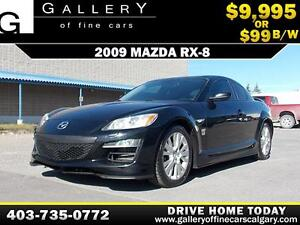 2009 Mazda RX-8 $99 BI-WEEKLY APPLY NOW DRIVE NOW