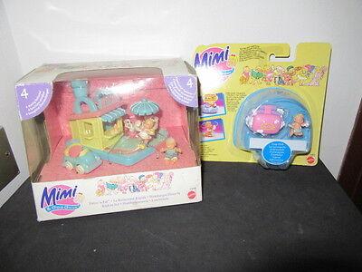Mimi And The Goo Goos - Playsets Hamburger drive in - Polly Pocket Mattel