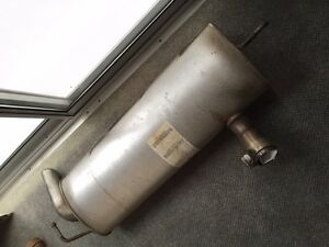 Jeep Wrangler Unlimited exhaust muffler 2009