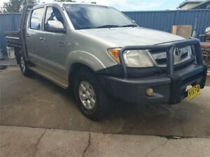 2005 Toyota Hilux GGN25R SR5 (4x4) Silver 5 Speed Manual Dual Cab Pick-up South Lismore Lismore Area Preview