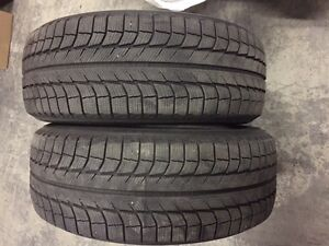 2 MICHELIN X-ICE WINTER TIRES FOR SALE