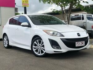 2011 Mazda 3 BL10L2 SP25 Activematic White 5 Speed Sports Automatic Hatchback Garbutt Townsville City Preview